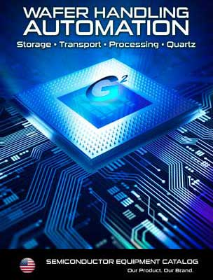 G2 Semiconductor and Wafer Handling Products Catalog cover image for link to pdf version of catalog